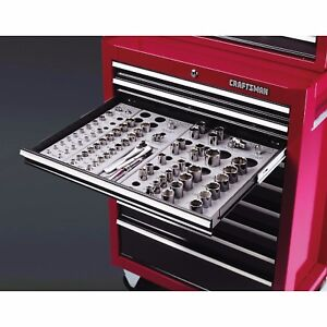 Craftsman Tool Box Socket Organizer 6 Trays Set Socket Drawer Organizer