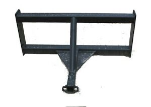 Skid Steer Reese Hitch Dolly Trailer Mover