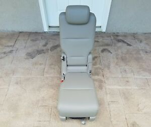 14 17 Honda Odyssey Middle 2nd Row Beige Leather Middle Seat Oem