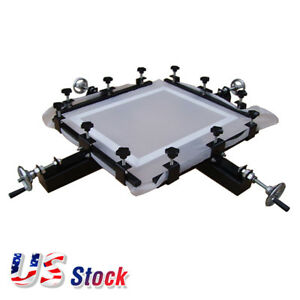 Us Stock 24 X 24 Manual Screen Stretching Machine Screen Printing Stretcher