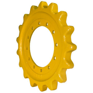 Prowler Cat 299c Sprocket Part Number 304 1916 12 Bolt Hole Caterpillar