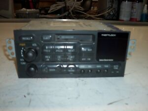C5 97 04 Radio With Cassette No Cd Gm Oem 16257631