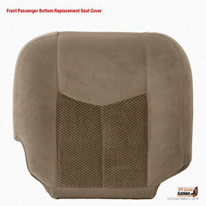 2003 2004 2005 2006 Chevy Tahoe Passenger Bottom Replacementseat Cover Cloth Tan