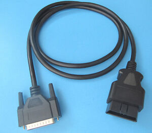 Obd2 Obdii Cable For Matco Tools Md9001n Quick Scan Pro Code Reader Scanner Tool