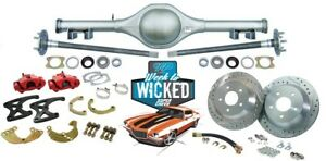 70 81 Chevy Camaro Currie 9 Crate Rearend 12 Rotor Disc Brake Conversion Kit