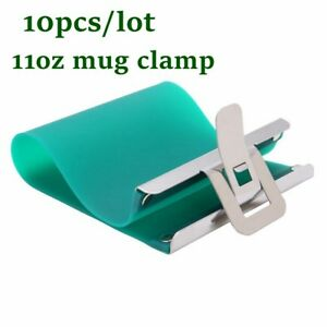 3d Sublimation 11oz Mug Clamp Wrap Mug Mold Fixture 11oz Cup Clamp Heat Printing