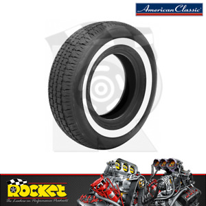 American Classic Tyres 205 70 R15 Radial Tyre W Whitewall Tiramc205 70r 15