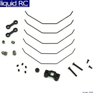 Tekno RC 6623 Sway Bar Kit complete front 1.0 1.1 1.2 1.3 1.4mm EB410 $20.83