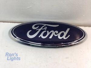 Ford Blue Oval Emblem 9 7t43 15402a16 aa Used