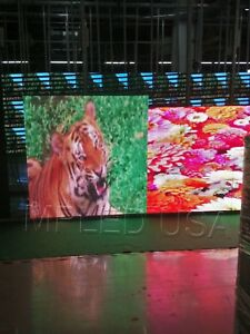 Ul Wif P10 Mm 12 Inch X 38 Inch Programable full Color Led Sign Ip65 Outdoor usa