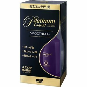 Soft99 Smooth Egg Platinum Liquid 230ml Excellent Quick Coat