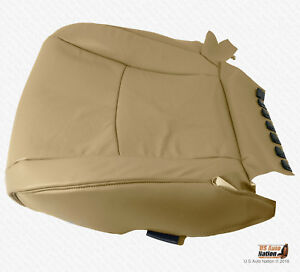 Driver Bottom Cover Perforated Leather Tan Fits 2003 2007 Toyota Highlander
