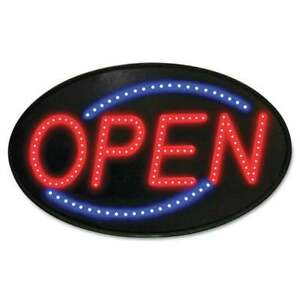 Open Bright Animated Led Motion Neon Light Business Store Hour Shop Display Sign