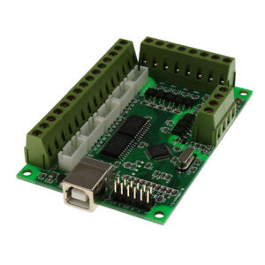 5 axis Cnc Breakout Board Interface Adapter For Stepper Motor With Usb Cable