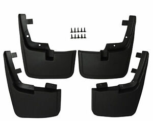 Front Rear 4pcs Splash Mud Guards Flaps 15 17 Ford F 150 Without Fender Flares