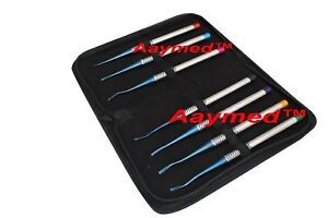 Pdl Luxating Root Elevators Set Of 7 Pieces Dental Surgical Instrument Ce Mark