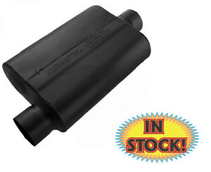 Flowmaster 43041 40 Series 3 Muffler O S In Center Out Black