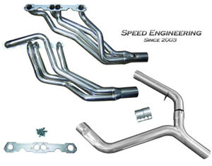 Speed Engineering Lt1 Camaro Firebird Headers Y Pipe 1 3 4 Race Version F Body