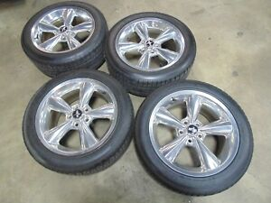 2005 2014 Ford Mustang Gt Polished Bullitt Wheels And Tires