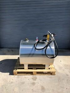 Portable Aluminum Fuel Storage Tank 110 Gallon With Dispenser