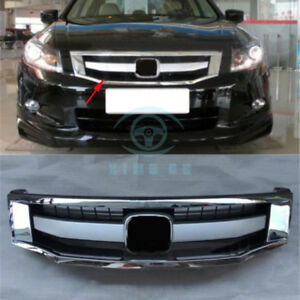 For Honda Accord 2008 2010 Auto Abs Sport Model Front Center Vent Bumper Grille