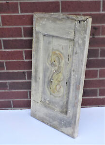 Spanish Colonial Antique Wooden Door Panel Old Mexico 27 3 4 X 15 1 8 X 1 1 2 H
