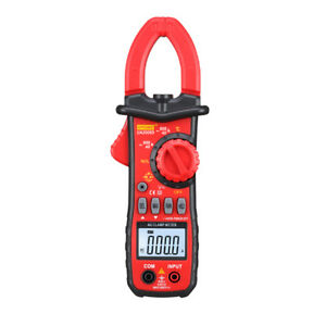 Digital Clamp Meter Dc Ac Multimeter Lcd Display With Test Lead 1000v 20a
