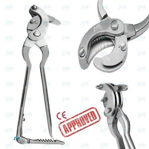 Serra Modified Emasculator Vet Castration Tool W Ratchet 15 Steel Clamp Ce New