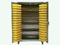 Stainless Steel Bin Cabinet With Shelves Sh46 bs 244 ss