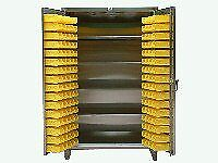 Stainless Steel Bin Cabinet With Shelves Sh36 bs 244 ss