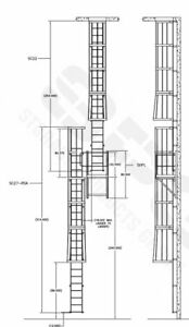 Traditional Roof Ladder Stal 32