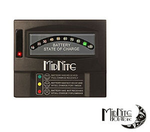 Midnite Solar Mnbcm Battery Capacity Meter Auto sensing For 12 24 36