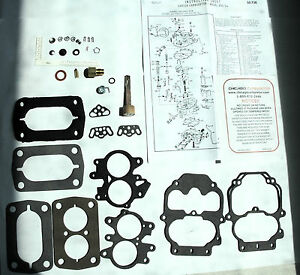 1960 76 Carb Kit Carter Bbd 2 Barrel Mopar 225 213 313 318 Dodge New