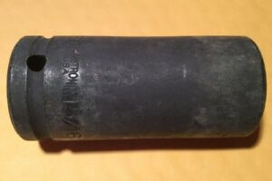 Armstrong 21 230 3 4in Drive 6 Point Deep 15 16in Impact Socket