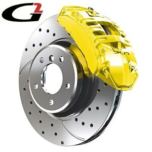 Yellow G2 Brake Caliper Paint Epoxy Style Kit High Heat Made In Usa Free Ship