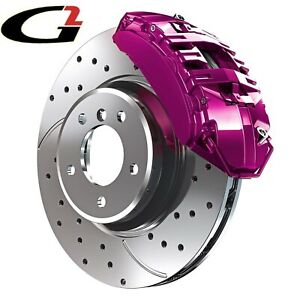 Purple G2 Brake Caliper Paint Epoxy Style Kit High Heat Made In Usa Free Ship