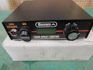 New Buyers Saltdogg Liquid Sprayer Cab Control Part Wse1