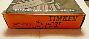 New Timken Jhm516810 Tapered Roller Bearing Cup Single Cup 1e1339