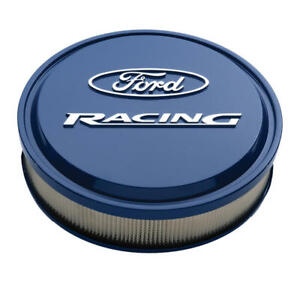 Proform Air Cleaner Assembly 302 381 Ford Racing Blue Aluminum Round 13 X 3