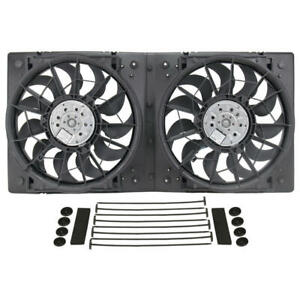 Derale Cooling Fan Assembly 16928 High Output Rad Shrouded 2x13 Dual Electric