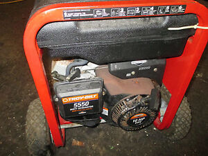 Troy Bilt Gas Generator Excellent 5550 115 220v Low Hours
