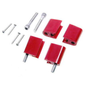 Taylor Spark Plug Wire Holder 42725 Red Nylon For Chevy 262 400 Sbc