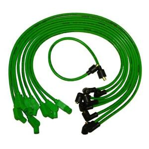 Taylor Spark Plug Wire Set 74503 Spiro Pro 8mm Lime Green For Chevy Jeep V8