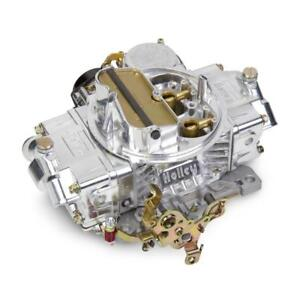 Holley Carburetor 0 80458sa 4160 600 Cfm 4 Barrel Vacuum Secondary Polished