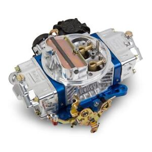Holley Carburetor 0 86670bl Ultra Street Avenger 670cfm Vacuum Blue polished
