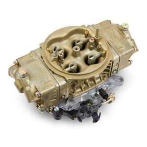Holley Carburetor 0 80507 1 4150 Hp 390 Cfm 4bbl Mechanical Gold Dichromate