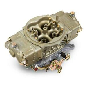 Holley Carburetor 0 80513 1 4150 Hp 1000 Cfm 4bbl Mechanical Gold Dichromate