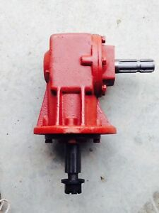 Fred Cain Ac Series Rotary Cutter Gearbox Code Ac r45s 1 93