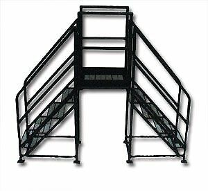 27 Wide Ladder Sets Expanded Metal Steps Hzcs327