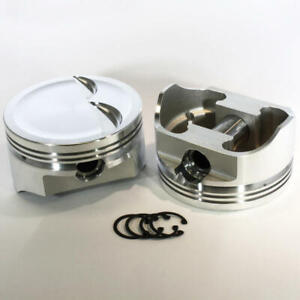 Dss Racing Piston Set 8740 4000 E 4 000 Forged Dish For Ford 347 Sbf stroker